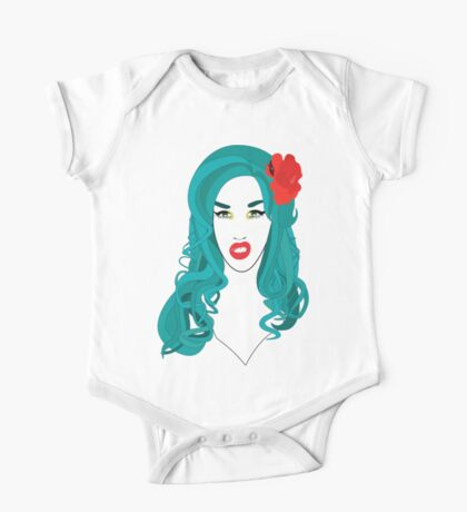 Adore Delano is a f*cking mermaid! One Piece - Short Sleeve