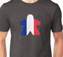French Meeple Design Unisex T-Shirt