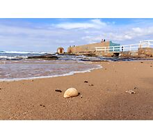 Sun, Sand, Surf and Shell in Newcastle Photographic Print
