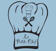 La Petite Chef - Jay Simpson Apparel - Cooking T-shirt Kids Tee