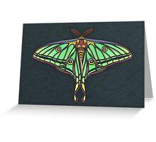 Spanish Moon Moth Greeting Card