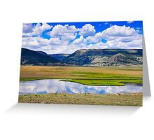 Valley of the Serpent Greeting Card