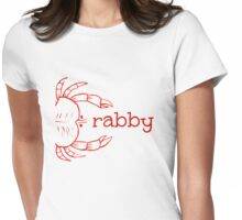 Crabby Womens Fitted T-Shirt