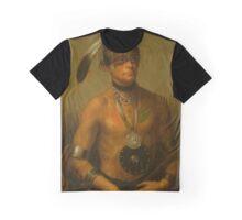 Hoo-Wan-Ne-Ka (Little Elk) of The Winnebago Graphic T-Shirt