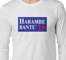 Harambe Bantu '16 Long Sleeve T-Shirt