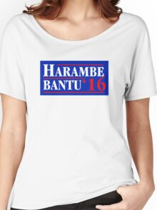 Harambe Bantu '16 Women's Relaxed Fit T-Shirt