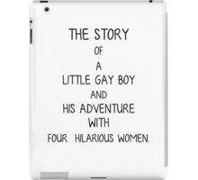 The Story of a Little Gay Boy iPad Case/Skin