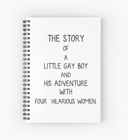 The Story of a Little Gay Boy Spiral Notebook