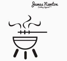 BBQ T-shirt - James Newton Apparel Kids Tee