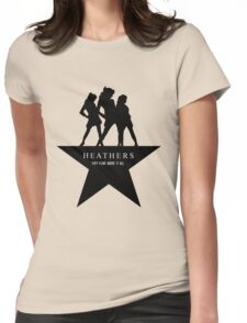 Heather, Heather, & Heather Womens Fitted T-Shirt