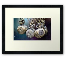 Pocket Watches Framed Print