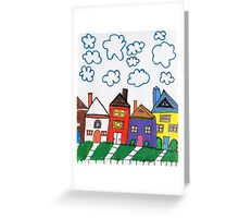 The Street Where You Live Greeting Card
