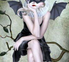 Bat Girl - Moonlighting Sticker