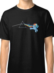 Rainbow Dash: Dark side of the moon (Brony) Classic T-Shirt
