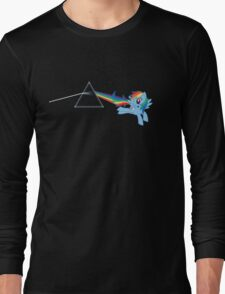 Rainbow Dash: Dark side of the moon (Brony) Long Sleeve T-Shirt