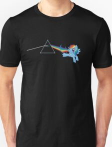 Rainbow Dash: Dark side of the moon (Brony) T-Shirt