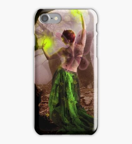 The enchanting forest fairy iPhone Case/Skin