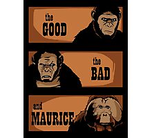 The good, the bad and Maurice Photographic Print