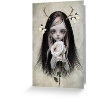 Fairytale - Rose Red Greeting Card