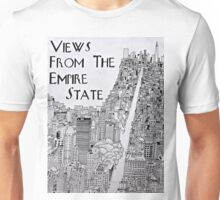 Views From the Empire State Building Unisex T-Shirt