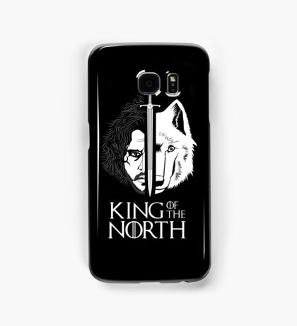 White Wolf Snow King of The North Samsung Galaxy Case/Skin