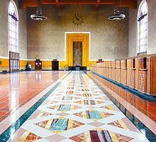 Old Ticketing Hall - Union Station - LA   HDR by Pete Edmunds