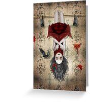 Vampire Girl - Amongst Friends Greeting Card