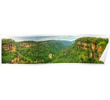 Kangaroo Valley panorama Poster