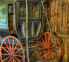 Wagon lost in storage Sticker
