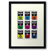 CANNED LUCHA Framed Print