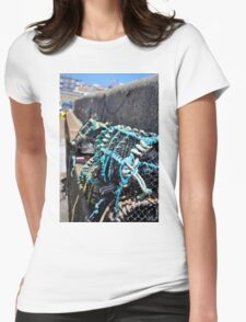 Fishing nets Womens Fitted T-Shirt