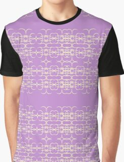 Abstract wallpaper -- purple K Graphic T-Shirt