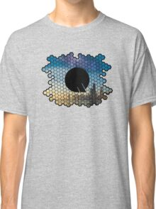 Quindustries R&D Logo City to Space Classic T-Shirt