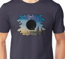 Quindustries R&D Logo City to Space Unisex T-Shirt