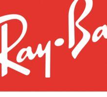 Ray Ban Vintage Logo Sticker