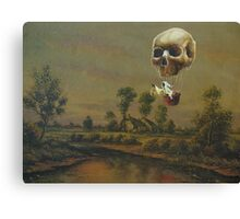 Travelling Ghost Canvas Print
