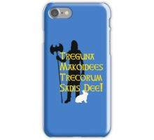 Substitutiary Locomotion! iPhone Case/Skin
