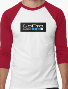 GoPro Logo Men's Baseball ¾ T-Shirt