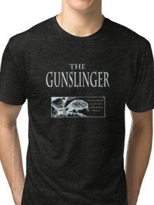 The Gunslinger (use on non white background) Tri-blend T-Shirt
