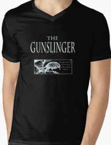 The Gunslinger (use on non white background) Mens V-Neck T-Shirt