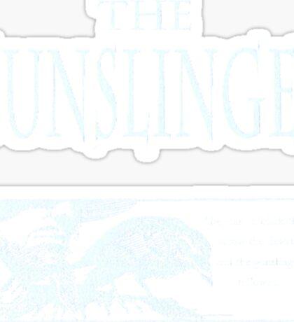 The Gunslinger (use on non white background) Sticker