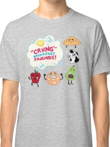 """Crying"" Breakfast Friends! // Steven Universe Classic T-Shirt"