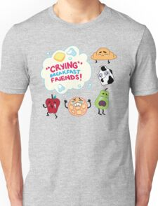 """Crying"" Breakfast Friends! // Steven Universe Unisex T-Shirt"