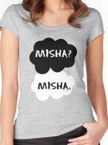 Misha Collins - TFIOS Women's Fitted Scoop T-Shirt