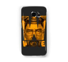 W. White Samsung Galaxy Case/Skin