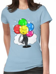In the Shadow of Balloons Womens Fitted T-Shirt