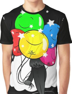 In the Shadow of Balloons Graphic T-Shirt