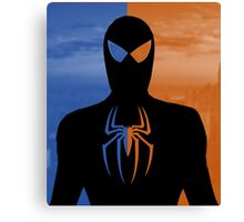 Spider Man - Day And Night Hero NY Canvas Print