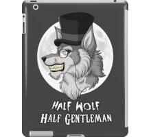 Half-Wolf Half-Gentleman iPad Case/Skin