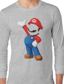 Poly Mario Long Sleeve T-Shirt